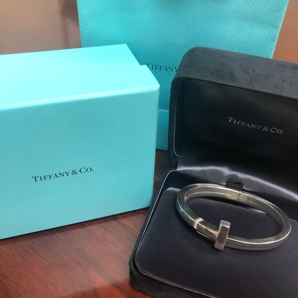 44c630184 Tiffany & Co. Jewelry | Tiffany And Co Diamond T Square Wrap ...